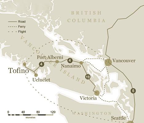 Tofino Canada Map.Travel Links Middle Beach Lodge Tofino Bc